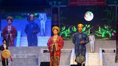 韓國傳統服裝和電影代表性作品亮相胡志明市